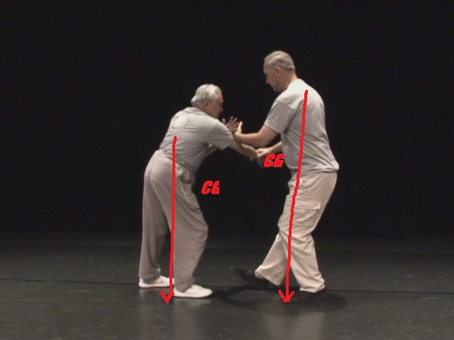 "Master Stephen Hwa and Sifu James Roach ""Pushing Hands (Tui Shou)"""